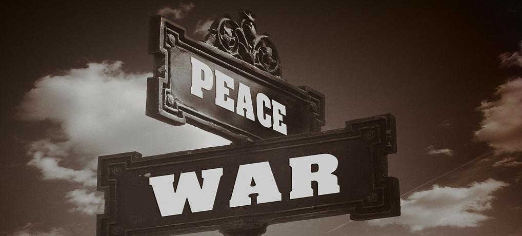 Wir sind für den Frieden!